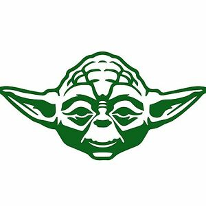 Details about STAR WARS YODA Vinyl Decal Car Truck Window funny Sticker  Jedi, Sith 6\