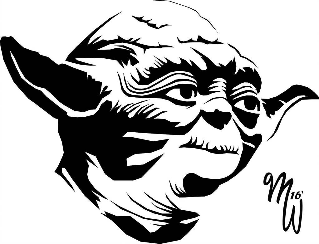 Yoda Vector WIP by MillieWright.
