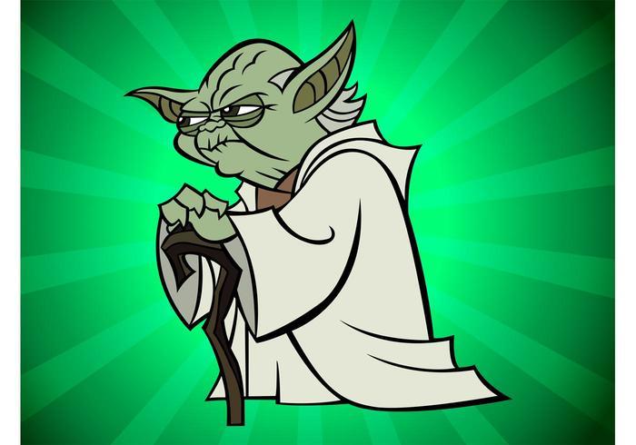 Yoda Cartoon.