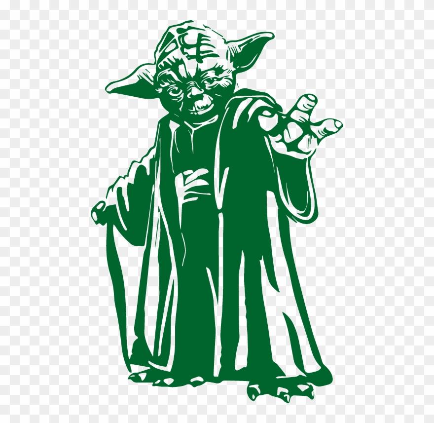 Star Wars Yoda Vector Clipart (#2055794).