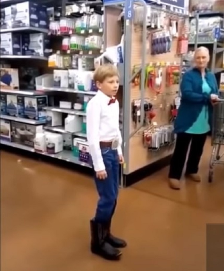 What Song Is The Yodeling Kid Singing?.