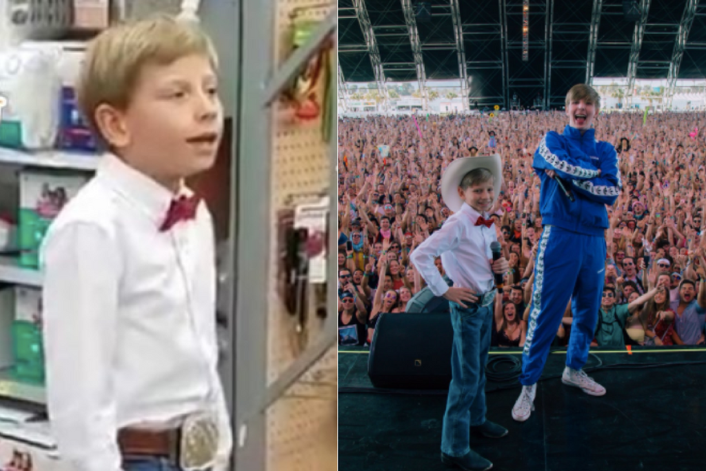 The Walmart Yodel Kid Just Performed At Coachella And Killed It.