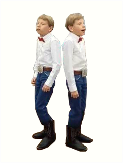 'Walmart yodeling kid' Art Print by DidgyDaddy.