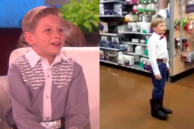 The Walmart Yodeling Kid Everyone Is In Love With Said That He's.