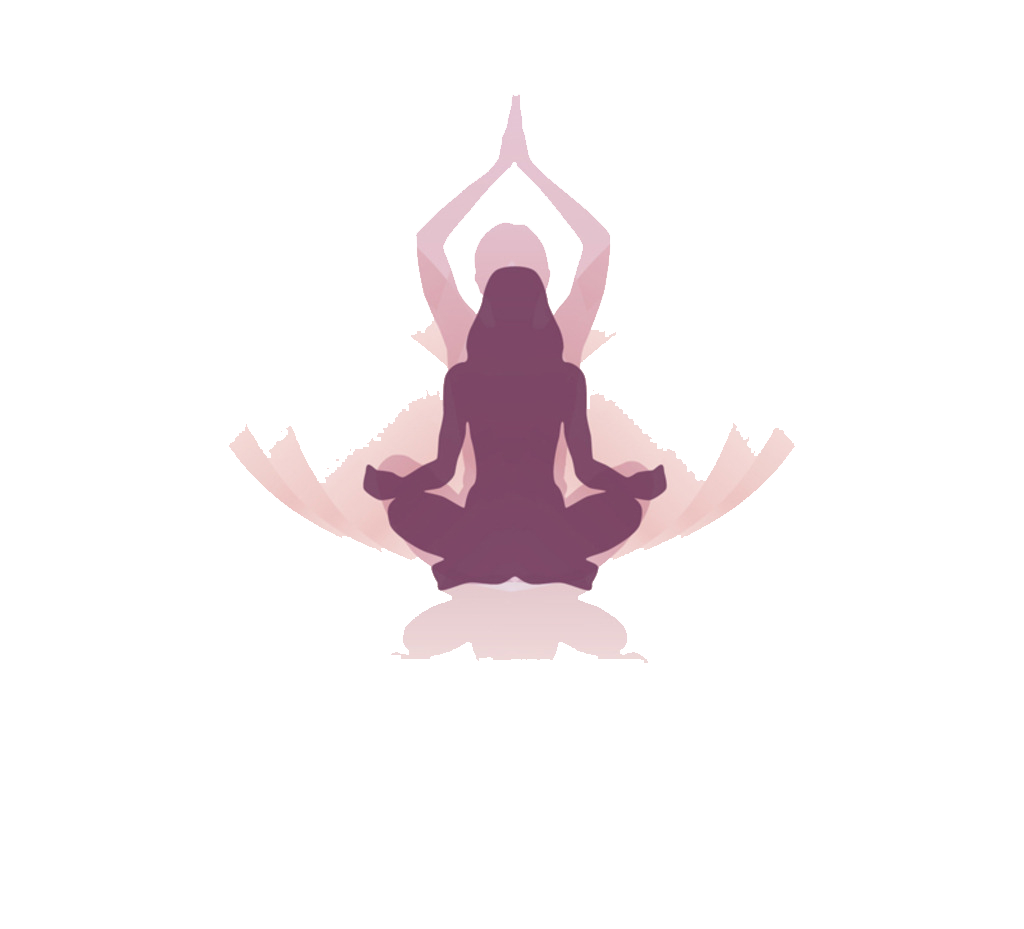 Zen yoga Meditation Icon.