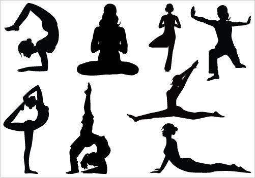 Yoga Clip Art Pack.
