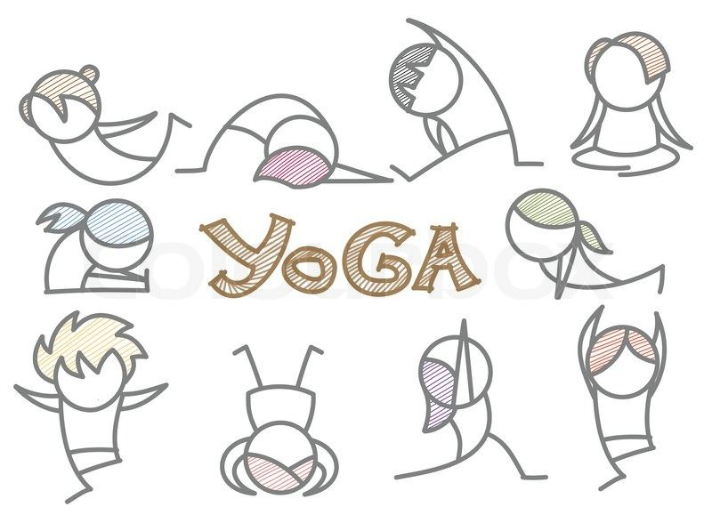 Funny Yoga Clip Art Free.