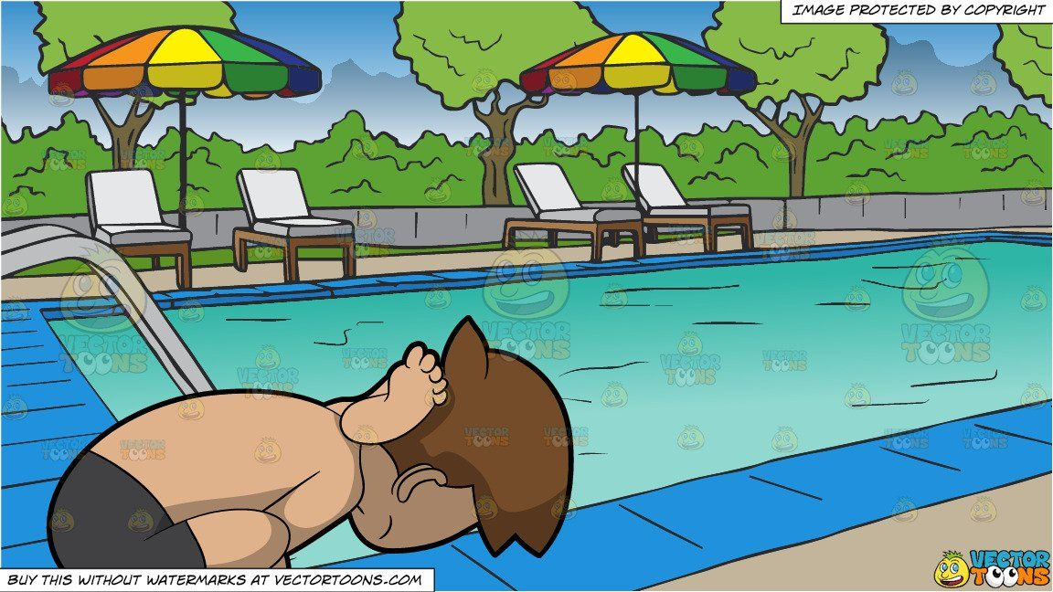 clipart #cartoon A Man Coming Out Of A Yoga Pose Dedicated.
