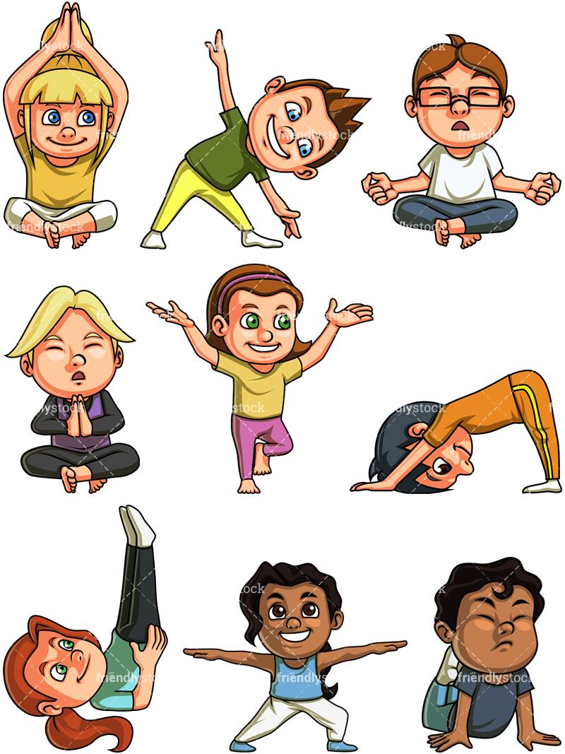 yoga cartoon clip art 10 free Cliparts | Download images ...