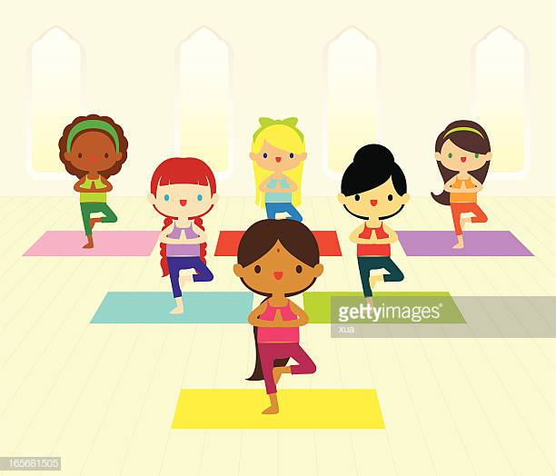 60 Top Yoga Class Stock Illustrations, Clip art, Cartoons, & Icons.