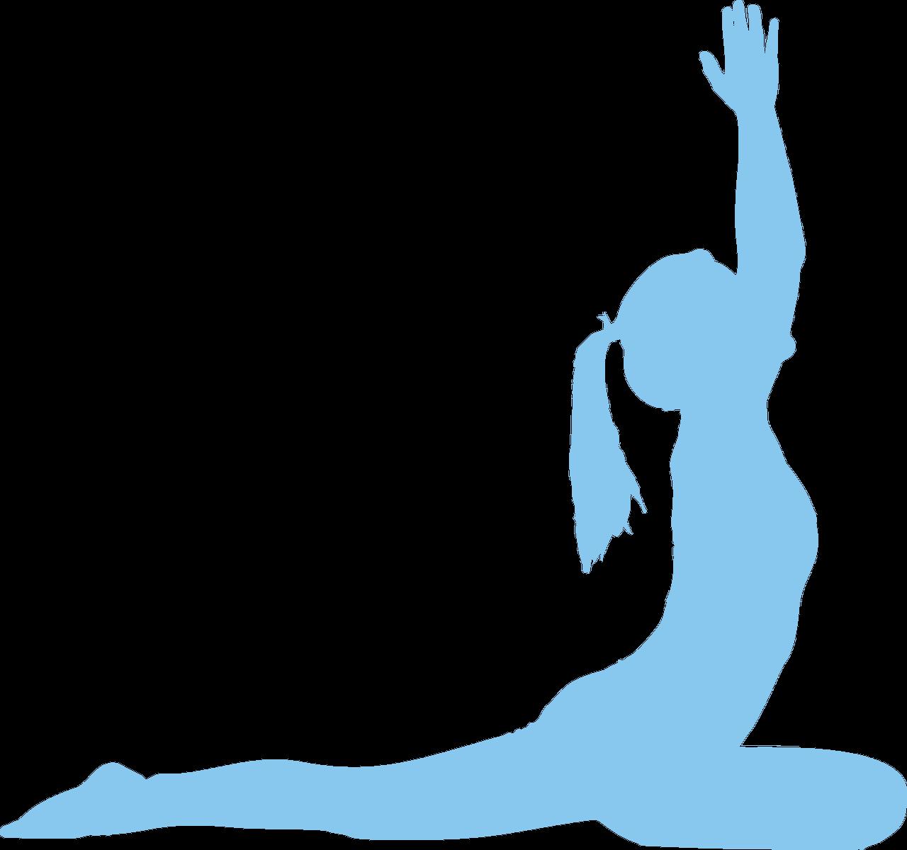 Asana Vector graphics Yoga Silhouette Posture.