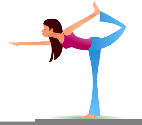 Animated Yoga Clipart.