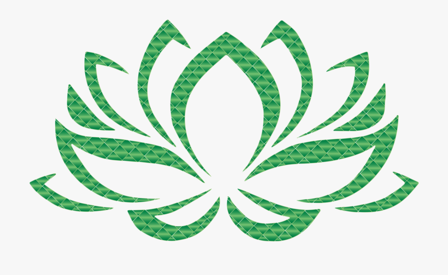 Sacred Lotus Lotus Position Yoga Symbol Sticker.