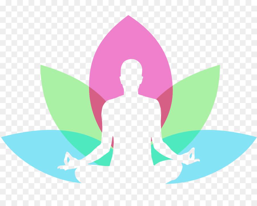 Yoga Day Logo clipart.