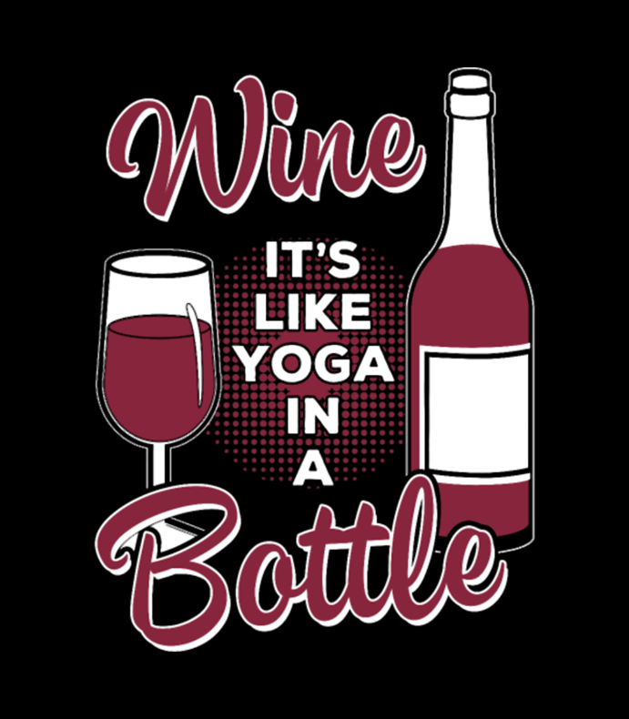 Yoga and wine clipart clipart images gallery for free.