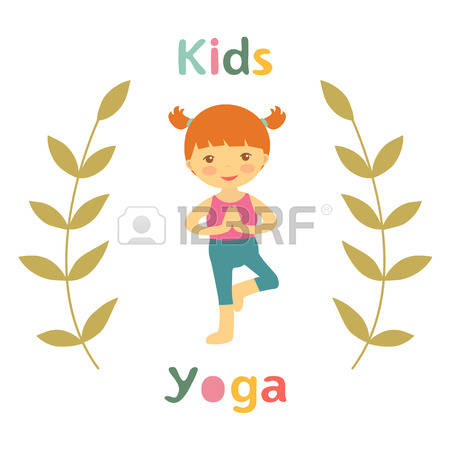 1,988 Child Yoga Stock Vector Illustration And Royalty Free Child.