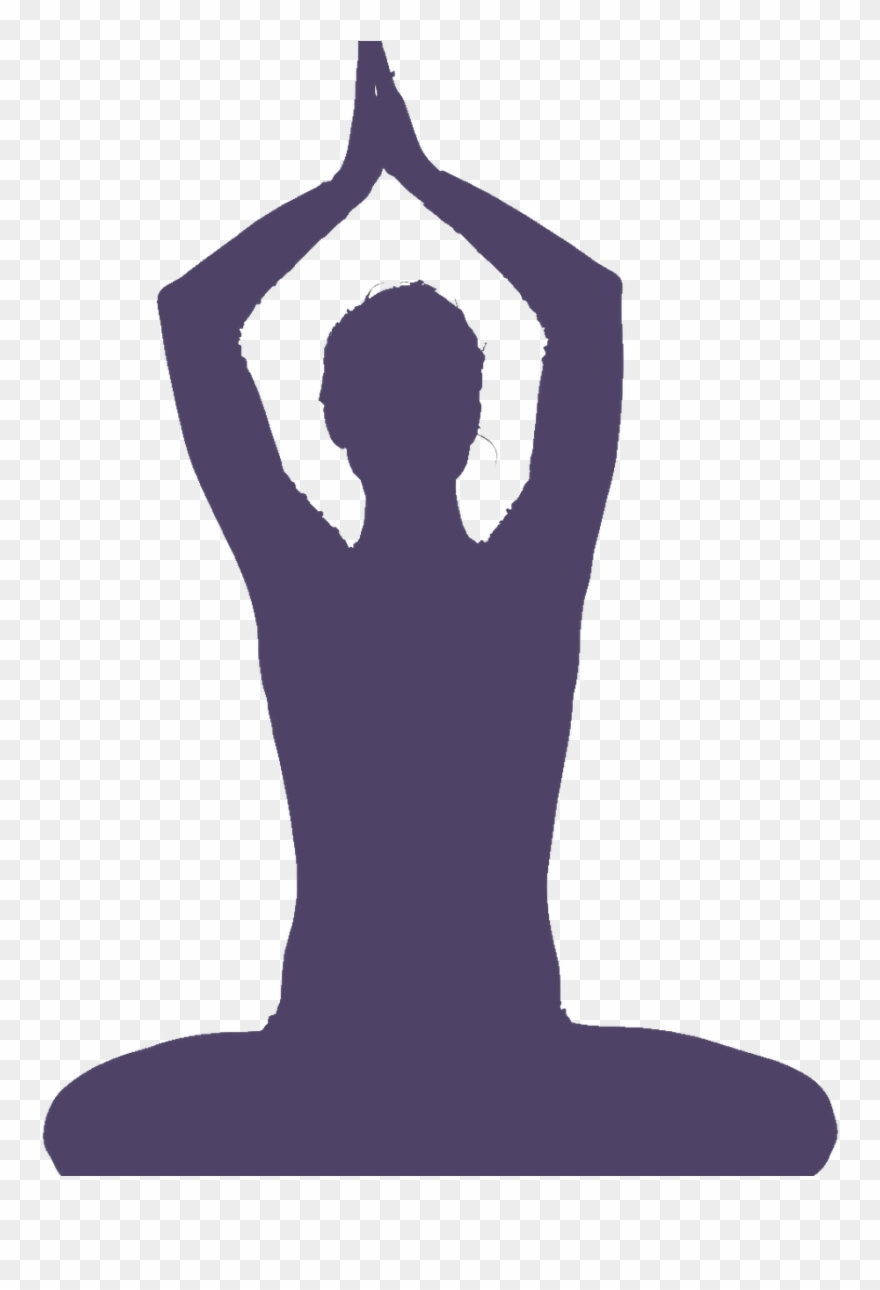Outline Of Yoga Poses Clipart (#3503524).