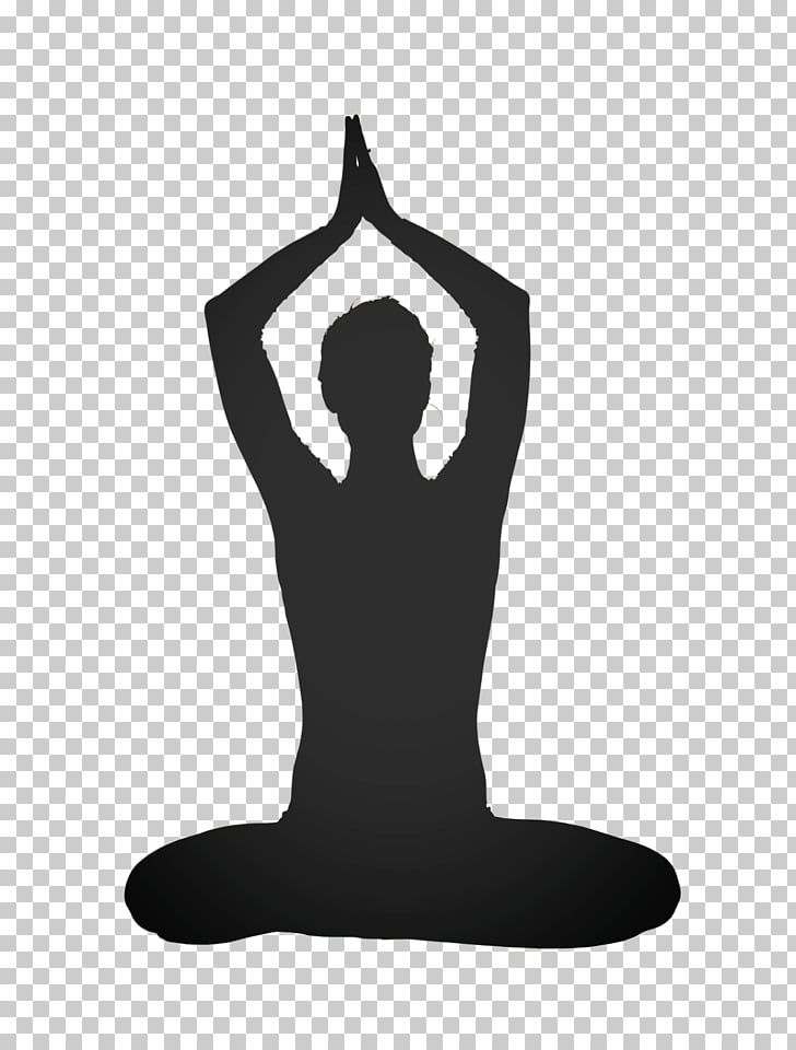 Yoga graphics Silhouette Physical fitness, yoga PNG clipart.