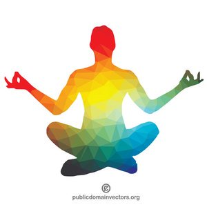 Download High Quality yoga clipart easy Transparent PNG.