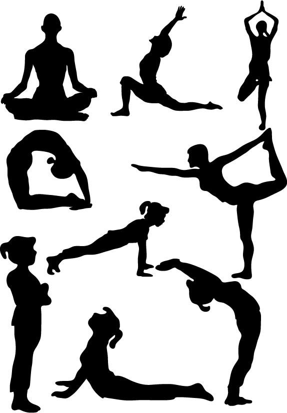 5330 Yoga free clipart.
