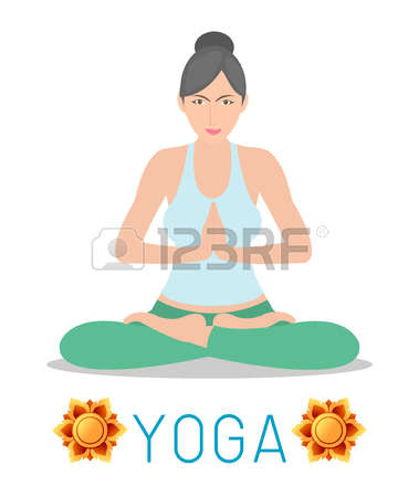 288 Yoga Teacher Stock Illustrations, Cliparts And Royalty Free.
