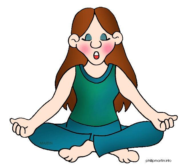 Free Yoga Clipart.