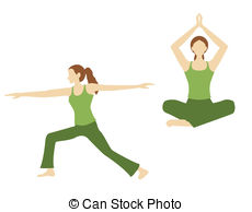 Yoga instructor Clip Art and Stock Illustrations. 765 Yoga.