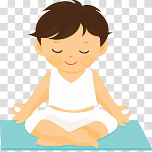 Yoga Kids transparent background PNG cliparts free download.
