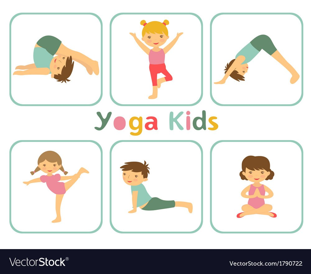 Yoga for kids clipart 6 » Clipart Portal.