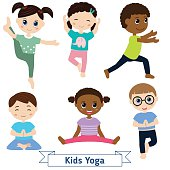 5267 Yoga free clipart.