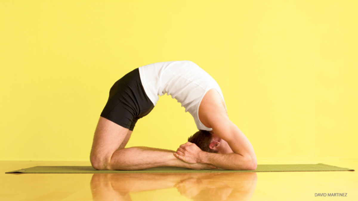 Try Yoga Backbends with Props: Block + Chair Backbends for.