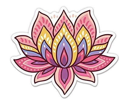 Amazon.com: Magnet Lotus Flower Cute Om Yoga Meditation.
