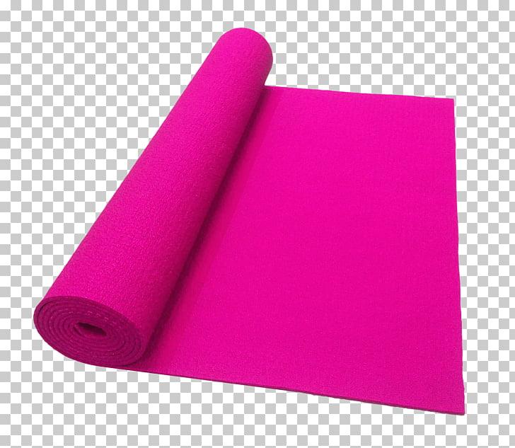Yoga mat Color, Yoga Mat PNG clipart.