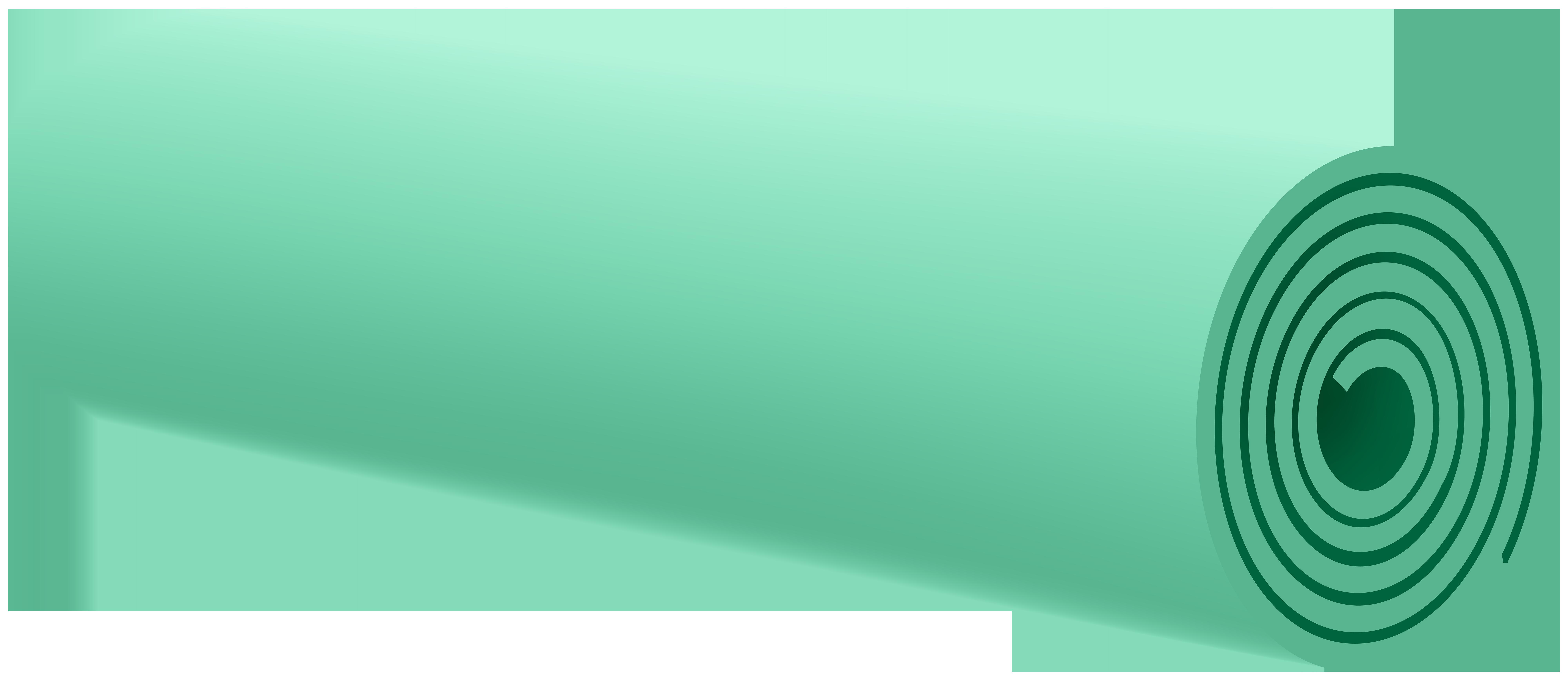 Yoga Mat PNG Clip Art Image.