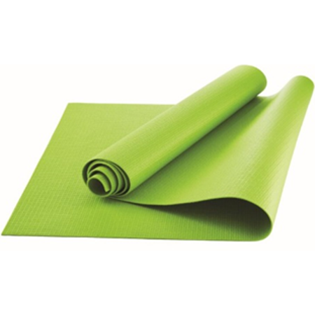 Athletic Works Yoga Mat, Grey, 3mm.