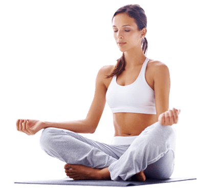 Yoga Sitting transparent PNG.