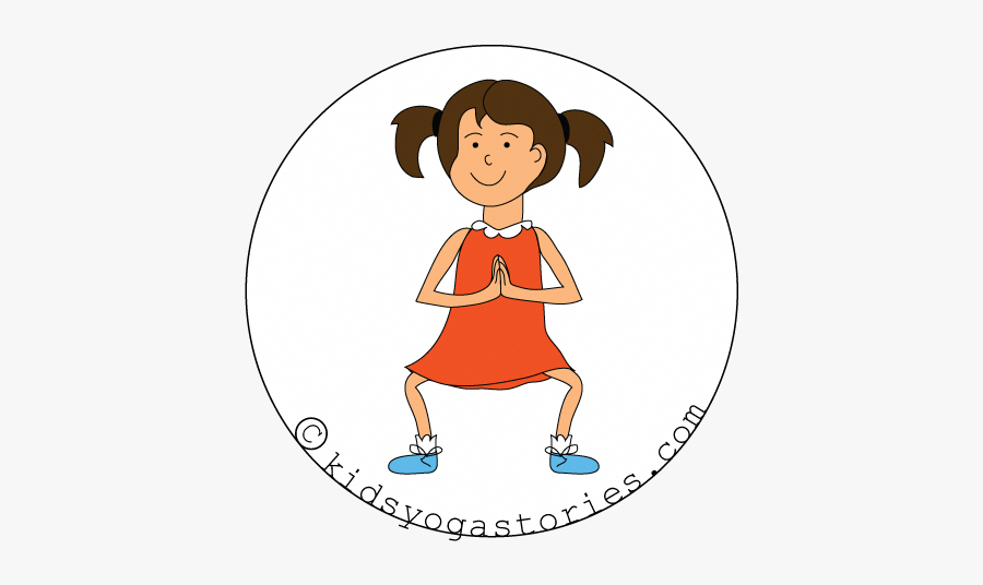 Butterfly Yoga Pose Kids , Free Transparent Clipart.