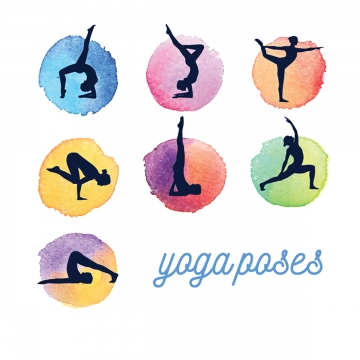 Yoga Poses Png, Vector, PSD, and Clipart With Transparent Background.