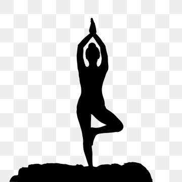 Yoga Pose PNG Images.