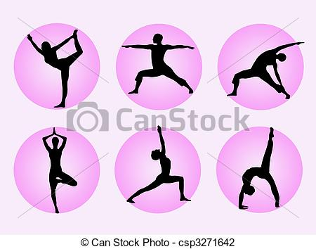 Yoga poses Clip Art and Stock Illustrations. 9,706 Yoga poses EPS.