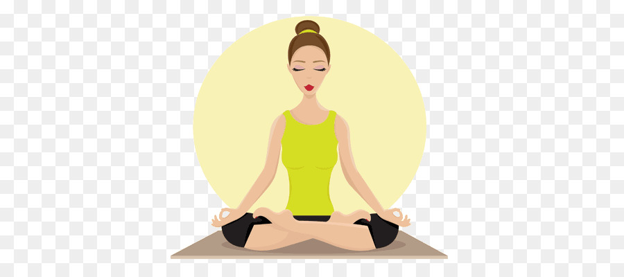Yoga Cartoon clipart.