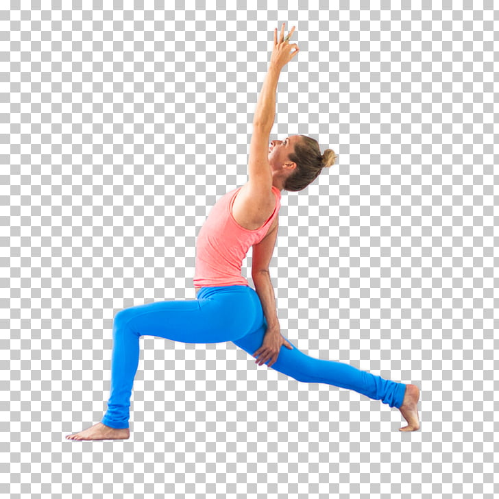 Yoga Lunge Hip Stretching Arm, yoga pattern PNG clipart.