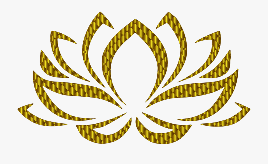 Yoga Clip Lotus Flower.