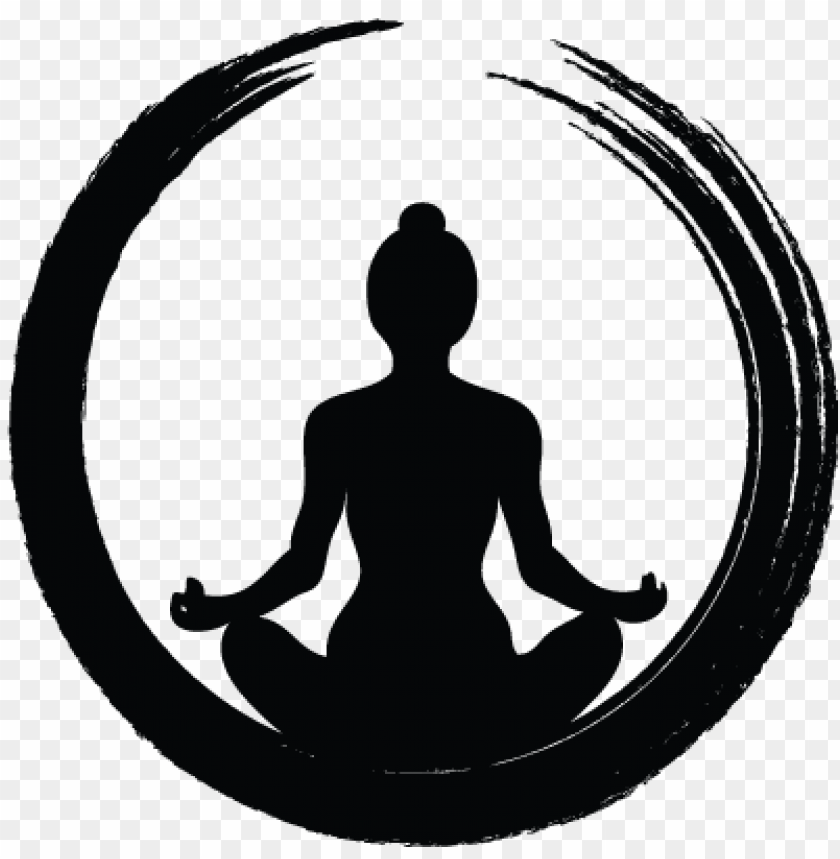 yoga symbols.