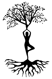 Image result for woman and tree clip art.