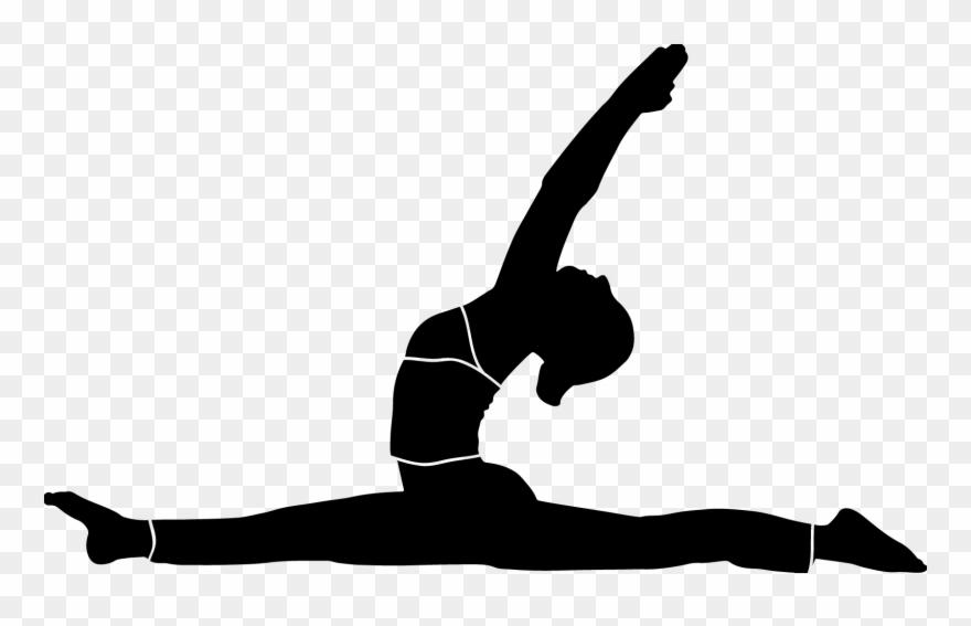 Yoga Shapes Silhouette Vector / Yoga / Yoga Svg / Printable.