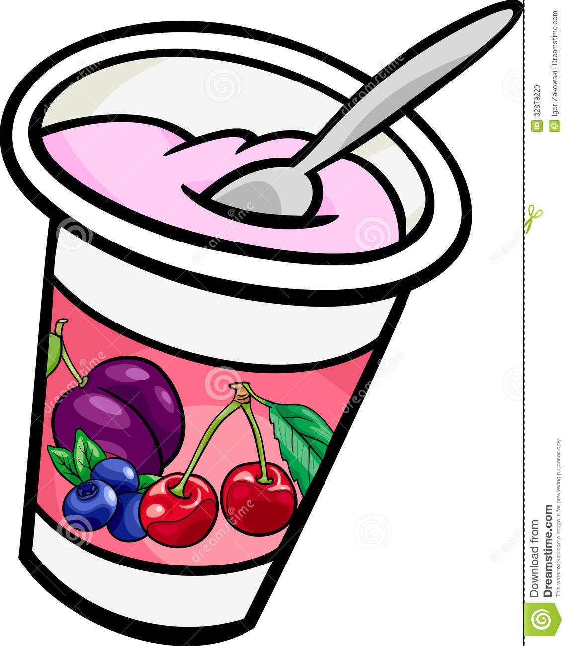 Yogurt Clipart.