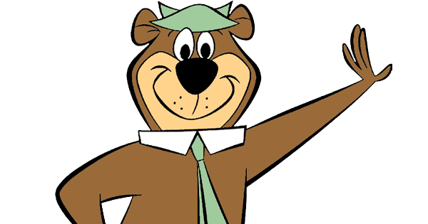 Yogi Bear Clip Art.