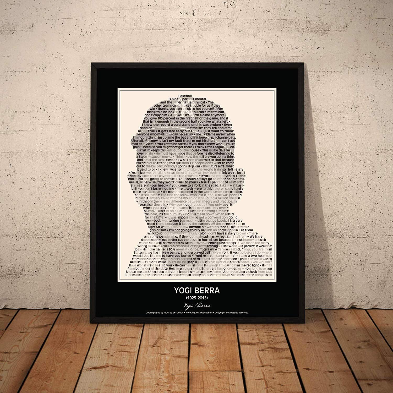 Amazon.com: Yogi Berra Quotes Poster. New York Yankee Yogi.