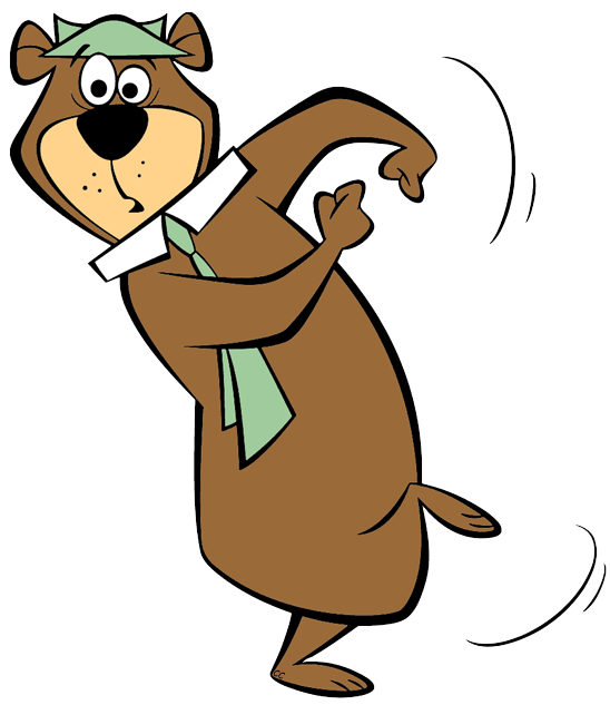 Yogi Bear Clip Art Images.